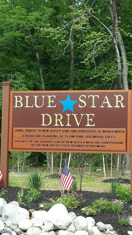 Blue Star Monumnet