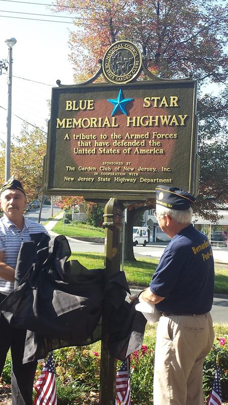 Blue Star Monument